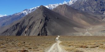 mountain landscape nepal