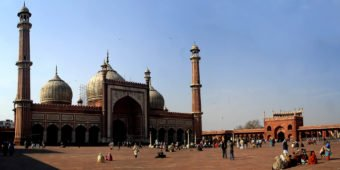 jama masjid mosque delhi