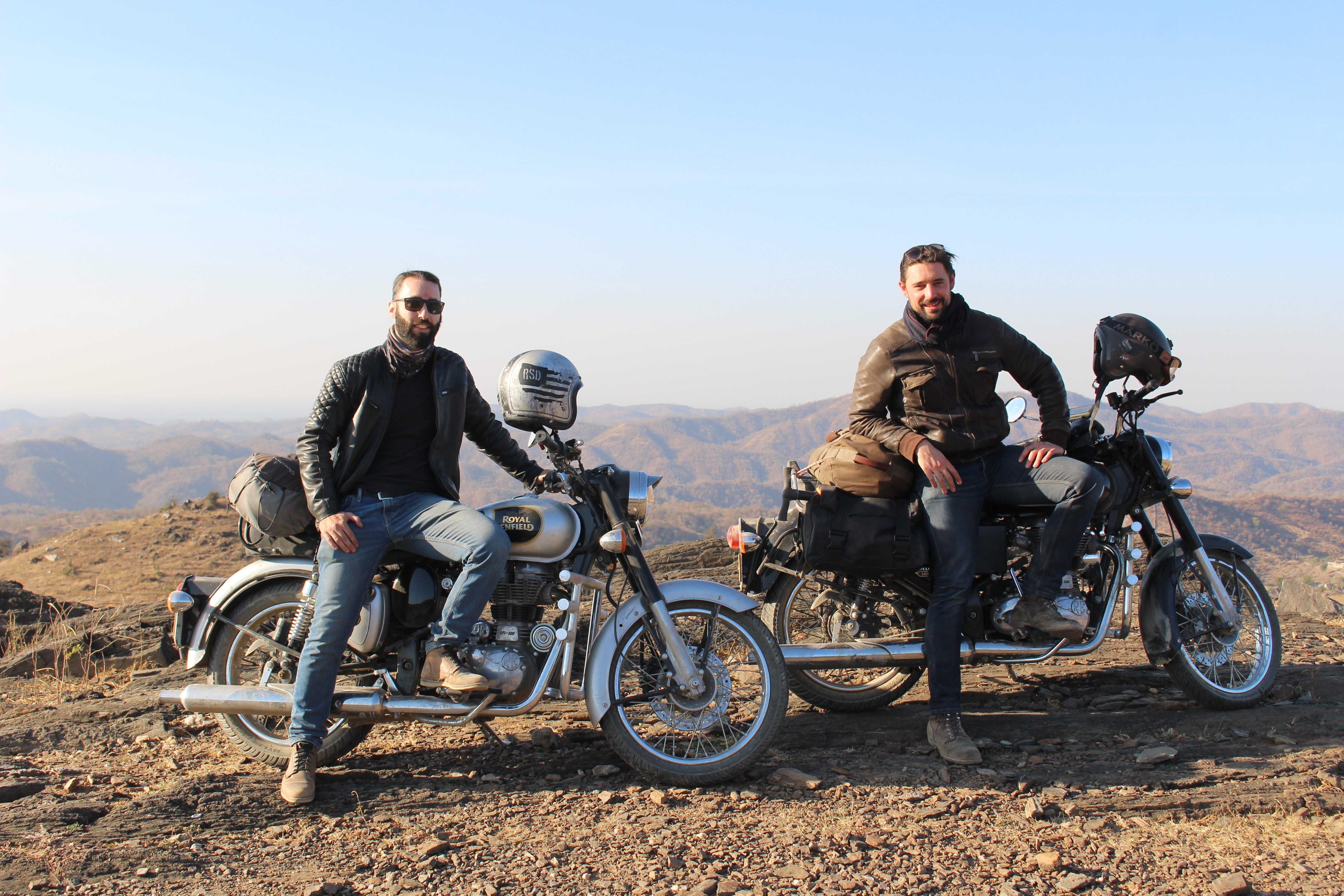 ben and baptiste in rajasthan