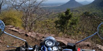 motorcycle tour landscape india