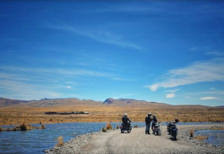 <h2>The Colca to Espinar leg</h2> There are some jaw-dropping landscapes on this leg of the tour as we ride for around one hundred miles off road through Andean meadows. Everyone always feels satisfied after this leg, and it's just the second day of riding!