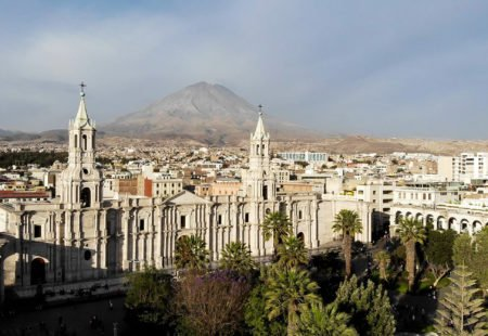 <h2>Arequipa, the world's Alpaca capital</h2>
