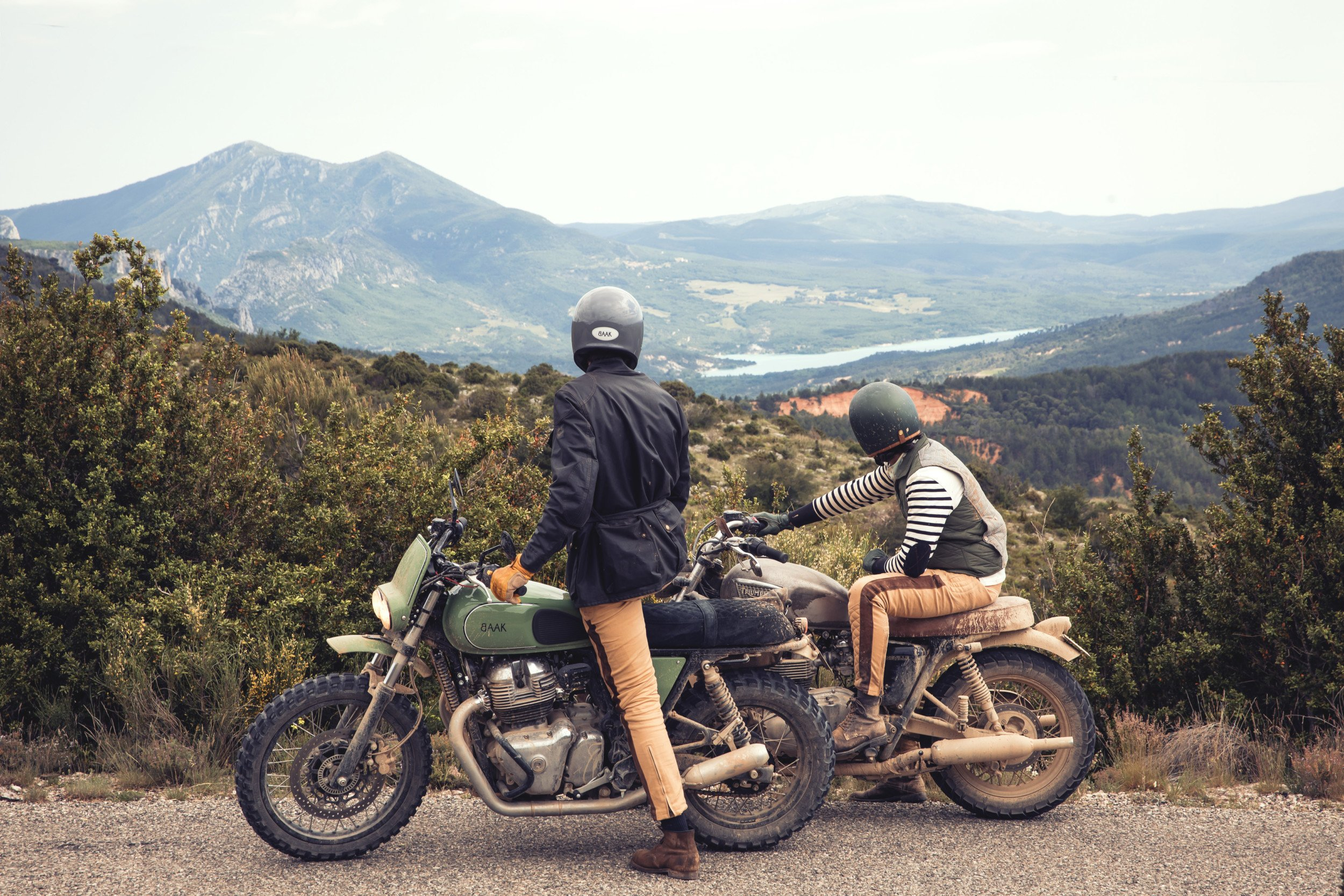 Motorcycle road trip Baak Aventures - From Provence to Vallo Alpino