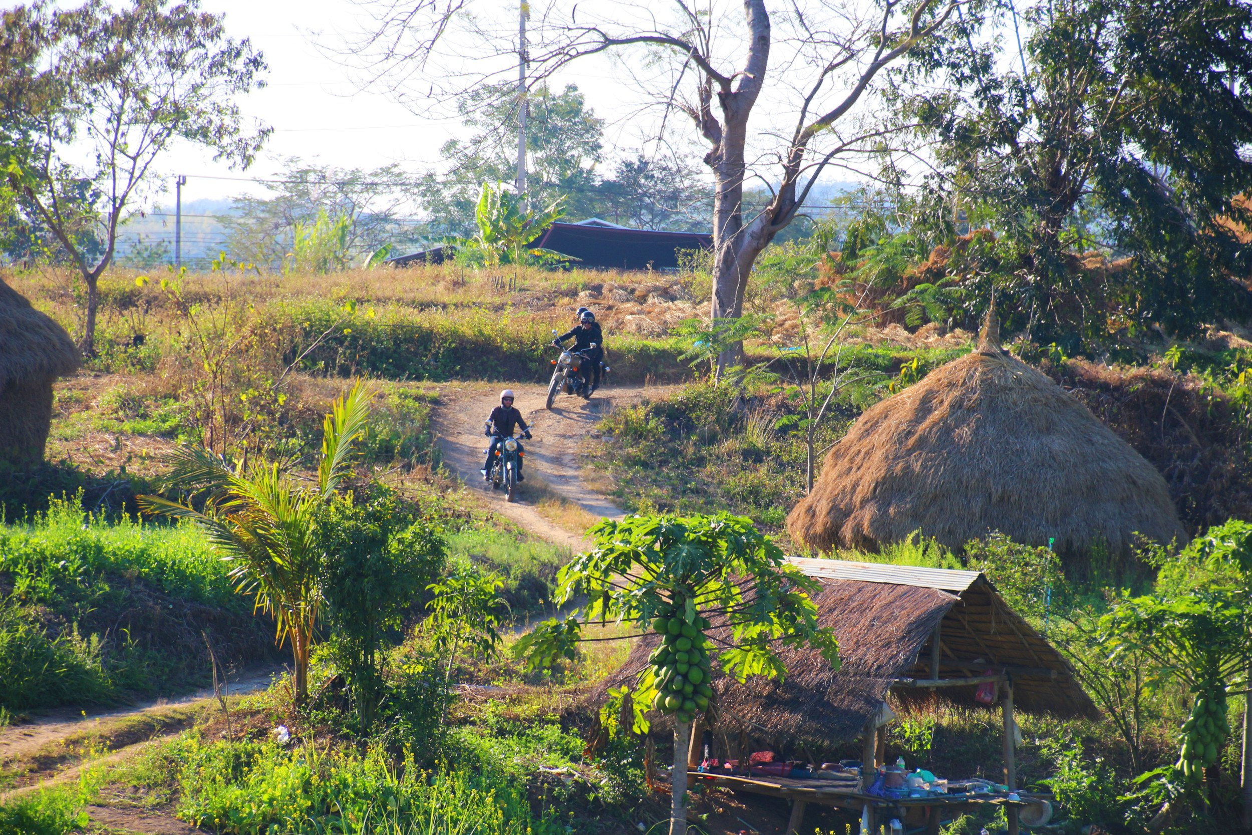 Motorcycle road trip Thailand & Laos - On the Edge of Siam Kingdom