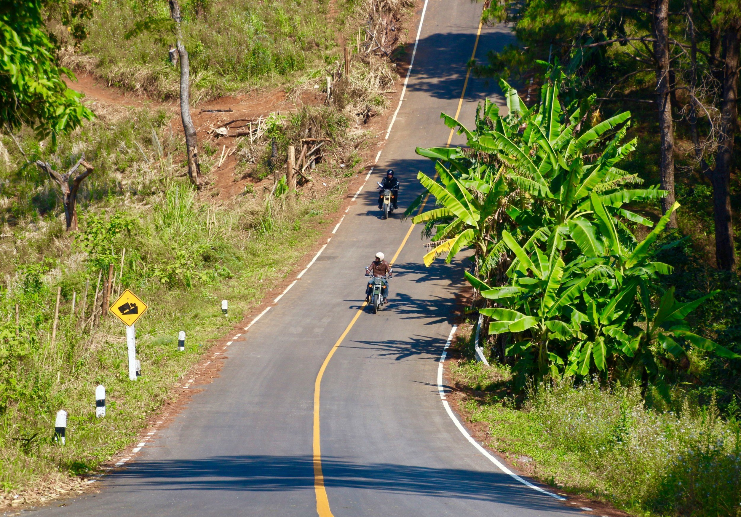 Motorcycle road trip Thailand & Laos - The Golden Triangle Mountains