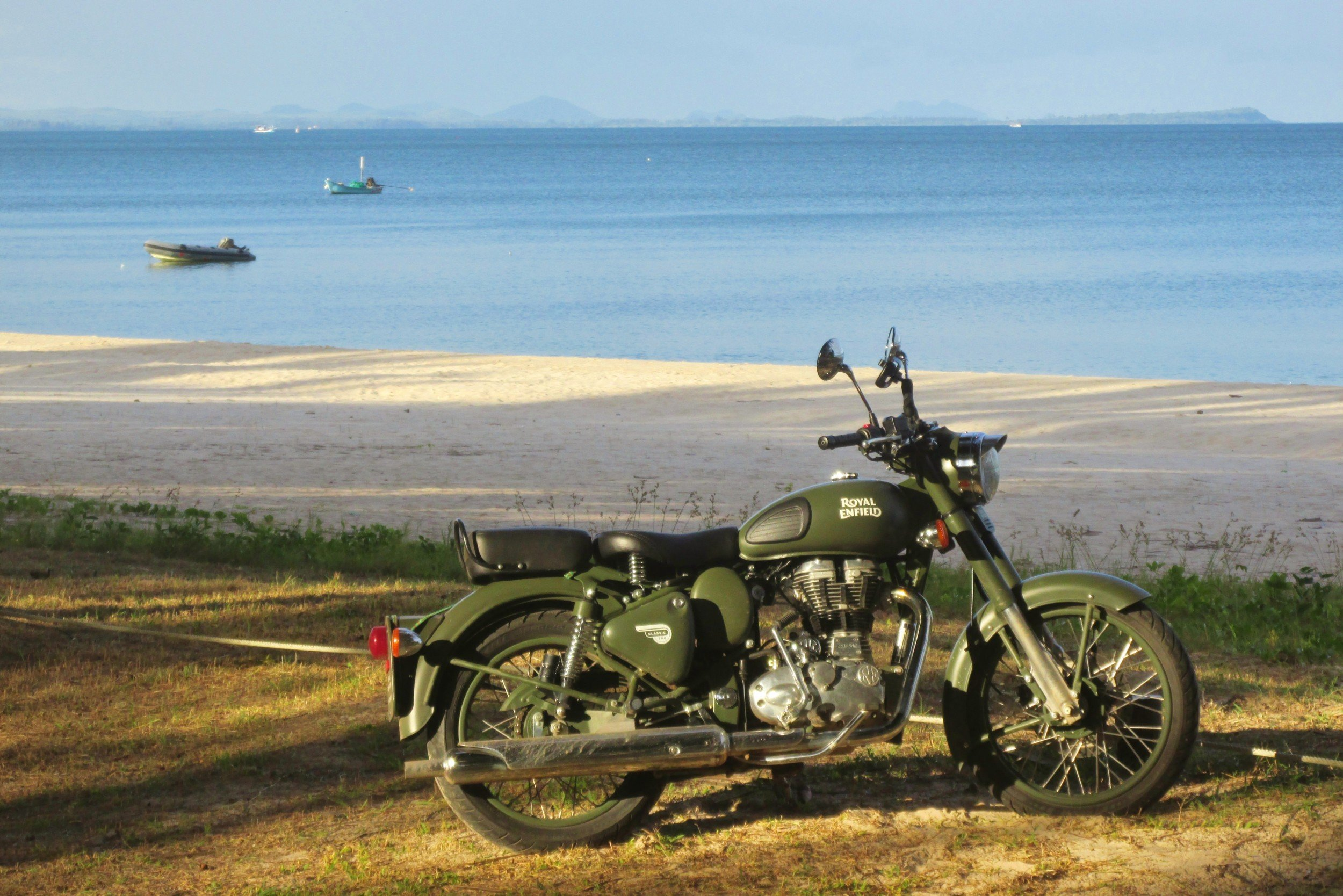 Motorcycle road trip Thailand & Laos - Jungle and Beaches of Southern Thailand
