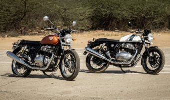 Royal Enfield 650 Interceptor: a new classic