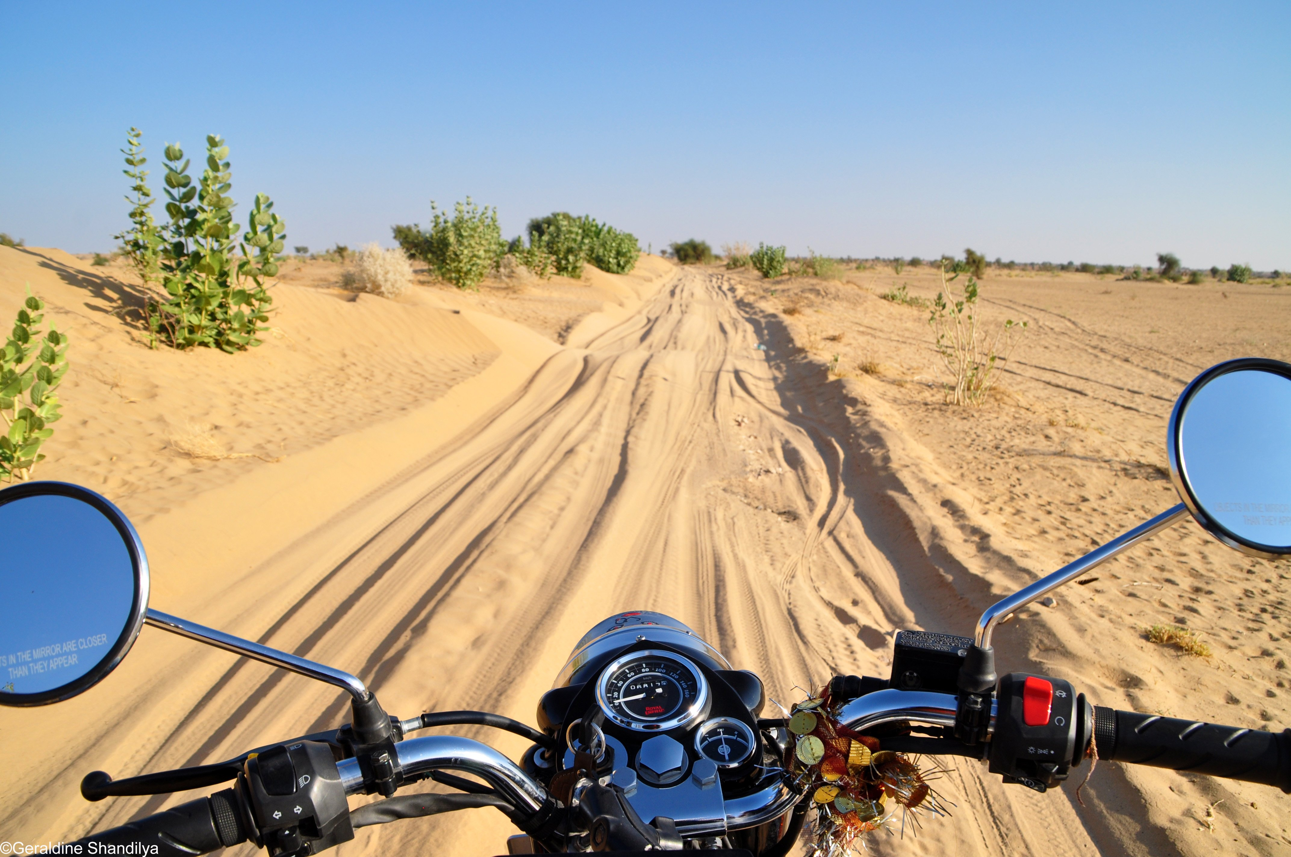 Motorcycle road trip India / North India - Rajasthan Adventure