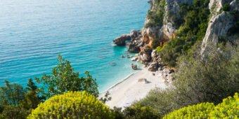 beach sardinia italy