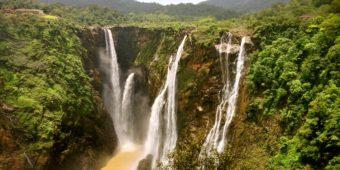 waterfall south india goa