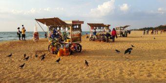 beach vendors sri lanka