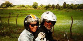 motorcycle couple sri lanka