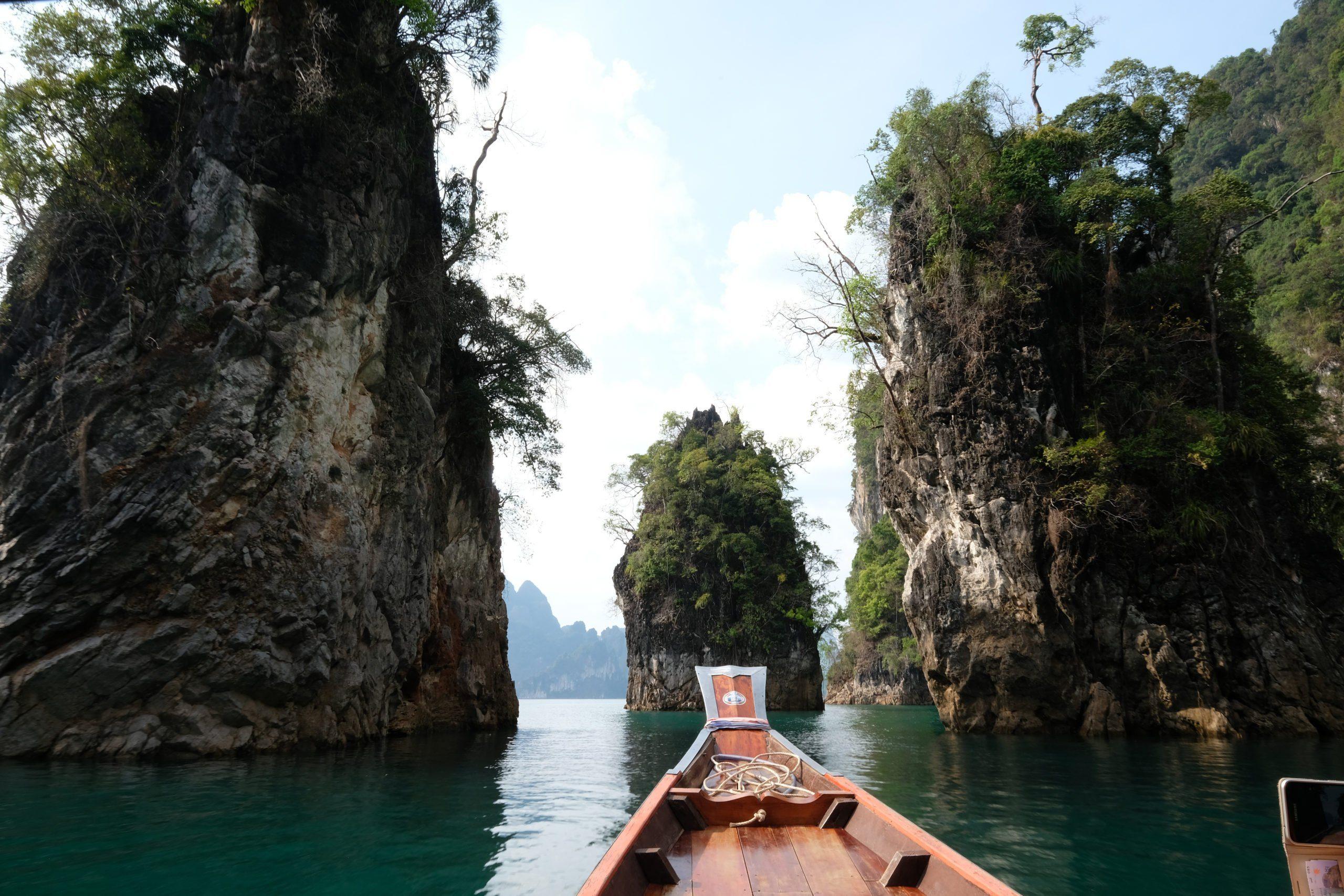 boat sea khao lak