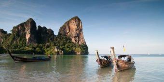beach krabi thailand