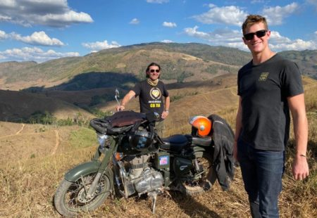 """I am going to be leading the motorcycle tour in Laos, then I will be back in Chiang Mai to take a group on one of our <a href=""""https://www.vintagerides.travel/motorcycle-tour/laos-thailand/"""">Thailand motorcycle tours</a>. Then, I fly to the Atlas Mountains to guide our first season of <a href=""""https://www.vintagerides.travel/motorcycle-tour/africa-morocco/"""">motorcycle tours in Morocco</a>."""