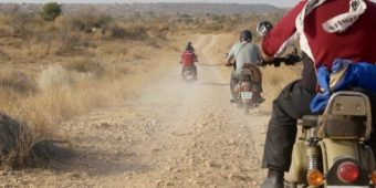 motorcycle adventure thar desert