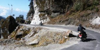 motorcycle trip bhutan