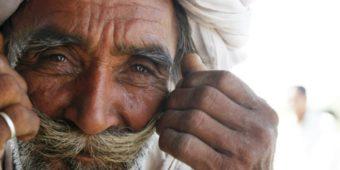 old man north india rajasthan