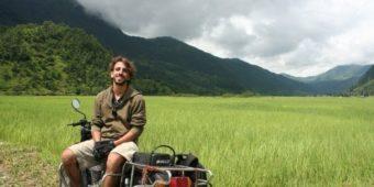 tourist bike nepal