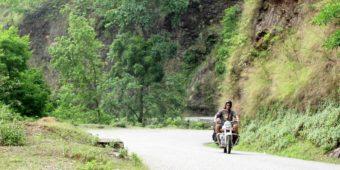 road motorbike trip nepal