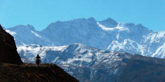 nepal mountains snow