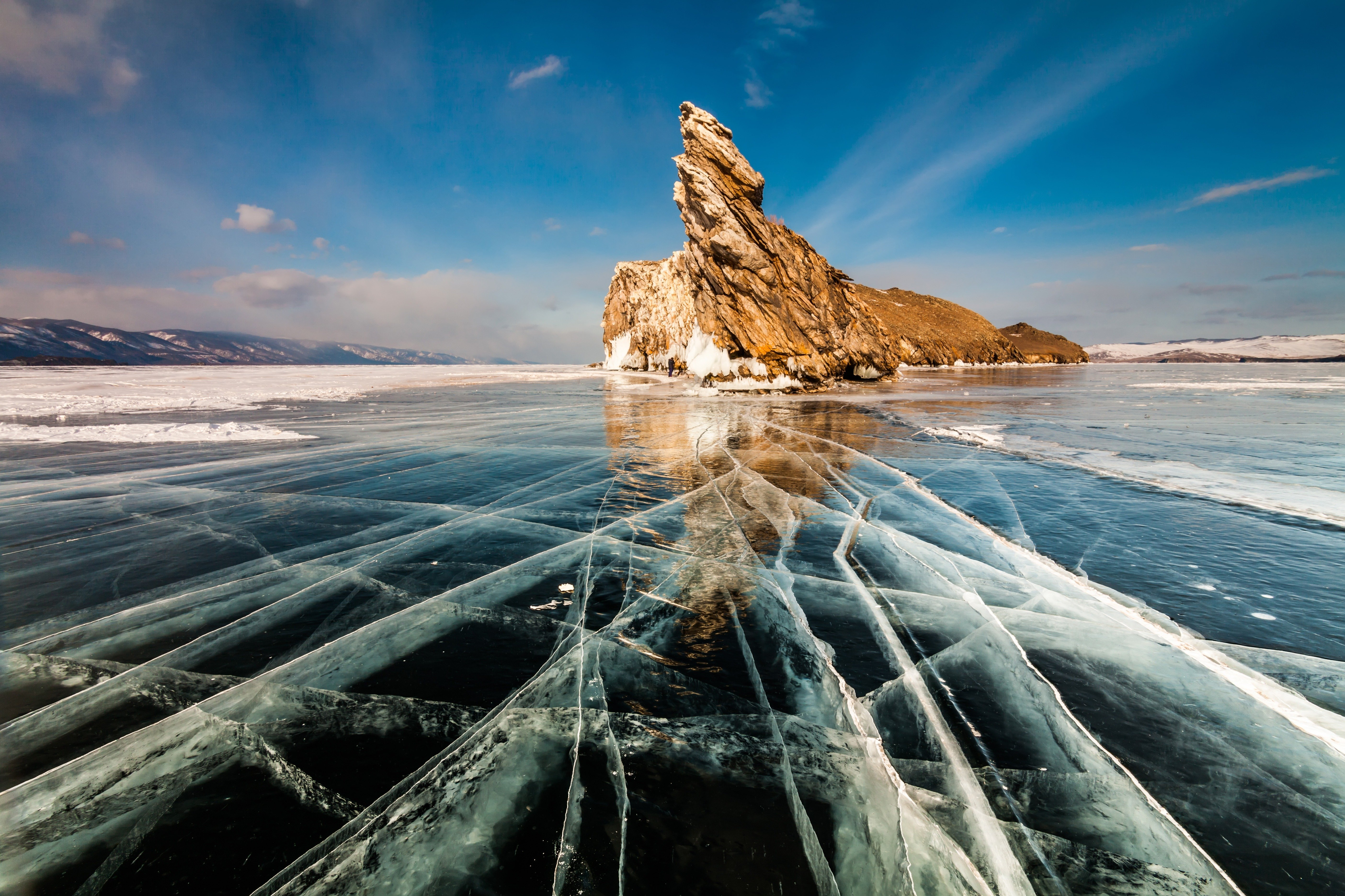 Motorcycle tour Baikal Lake - Russia - Siberia