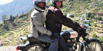 motorcycle adventure himalaya