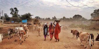 women india madhya pradesh village