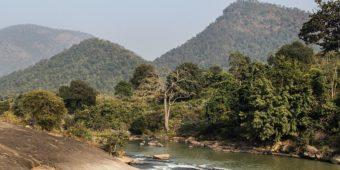 landscape nature river odisha