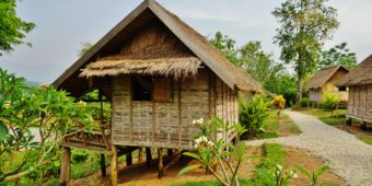 wooden house thailand