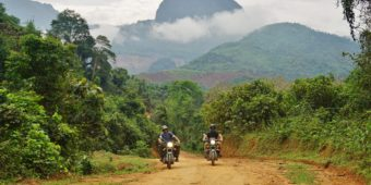 motorcycle trip laos