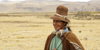 local peru woman