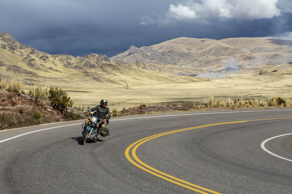 Motorcycle tour - Inca Treasures in the High Andes