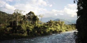 river landscape peru