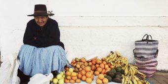 fruit seller peru
